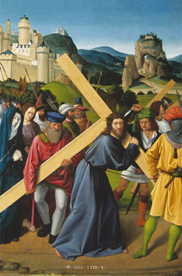 Jean Poyer, Retable du Liget (1485) - détail
