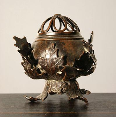 Brûleur d'encens, collection asiatique d'Emmanuel Lansyer (XIXe siècle)