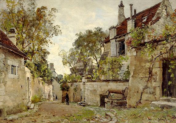 E. Lansyer, Maison de mon oncle Pescherard (1882)